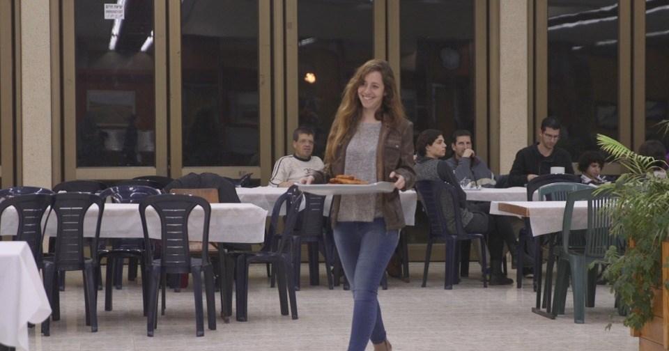 Kibbutz Mizra - The Kibbutz dining hall