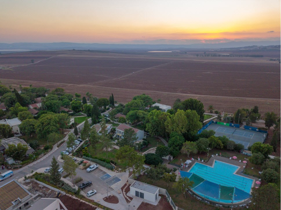 Holiday Village Kibbutz Mizra - Sunset