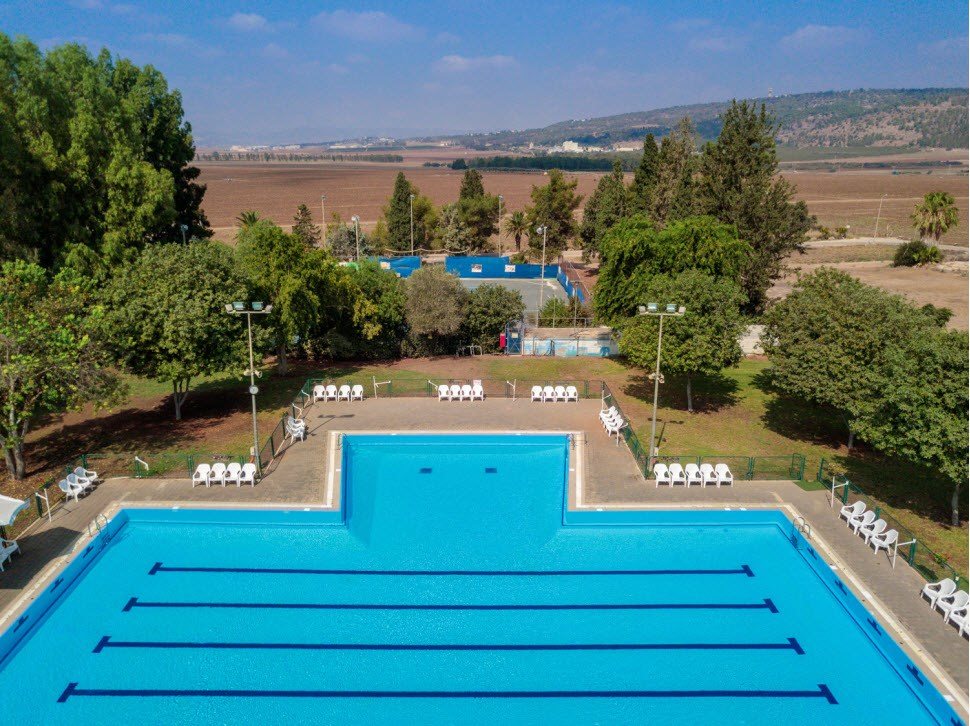 Holiday Village Kibbutz Mizra - Pool Outside