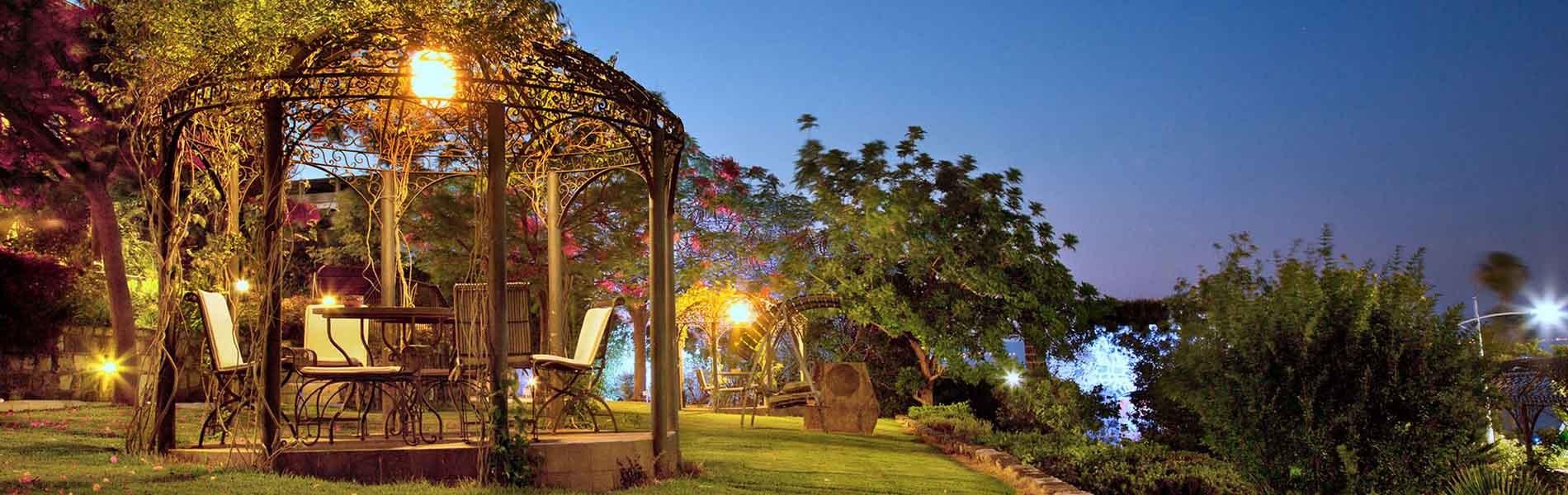 Scots Hotel - Outdoor garden