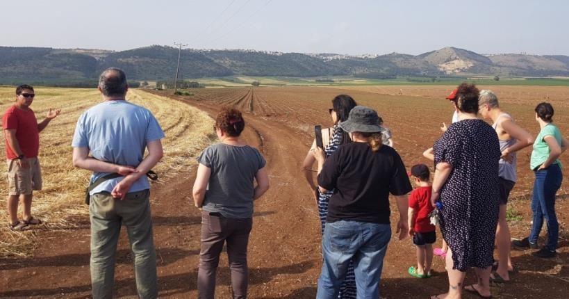 Agricultural Tour - Holiday Village Kibbutz Mizra