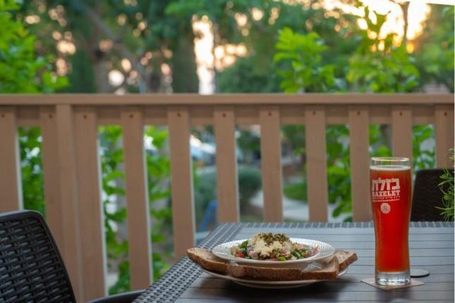 Dinner with view -  Holiday Village Kibbutz Mizra