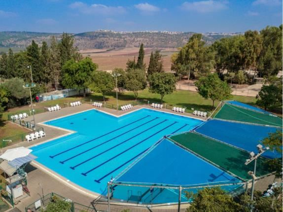Outside Pool - Holiday Village Kibbutz Mizra