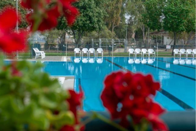 Pool in Kibbutz Mizra
